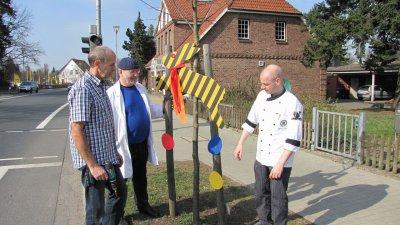 Fotoalbum Straßenschmuck zu Ostern 2012