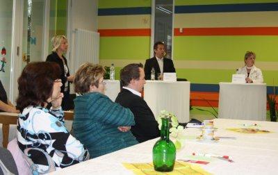Fotoalbum Podiumsdiksussion der Landratskandidaten im Freizeitzentrum Artern