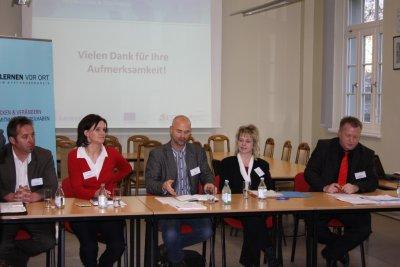 Fotoalbum Diskussionsrunde mit Landratskandidaten im Kyffhäuserkreis