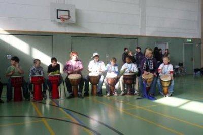 Fotoalbum Trommeleinsatz zum Sportfest