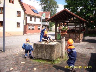 """Fotoalbum 20 Jahre Verein """"Freiwillige Feuerwehr Stedtlingen e.V."""", 20 Jahre Jugendfeuerwehr Stedtlingen, 10 Jahre Frauenlöschgruppe Stedtlingen"""