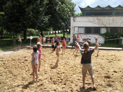 Fotoalbum Beachparty im Hort Torgartenschule