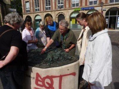Fotoalbum Frauen aus Cottbus in Emsdetten zu Gast