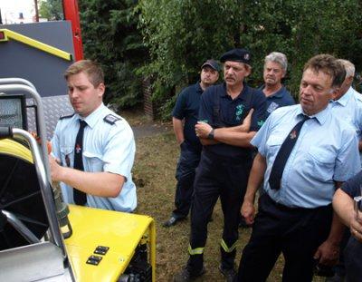 Fotoalbum Tag der offenen Tür bei der Feuerwehr in Hohenleipisch
