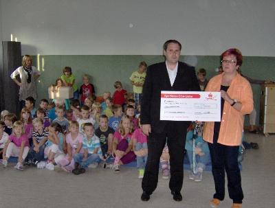 Foto des Albums: Spendenübergabe durch GSG Baubeschläge Elsterwerda (07.09.2012)