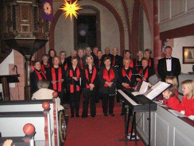 Fotoalbum Weihnachtliches Singen in der Ev. Kirche Wenings