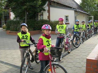 Fotoalbum Fahrradprüfung 2012