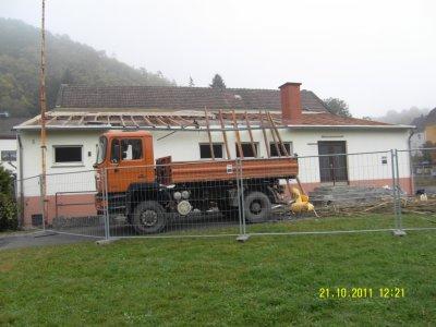 Fotoalbum Umbau Mehrzweckhalle