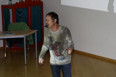 Foto des Albums: Lesung mit Jens Reinländer (21.11.2012)