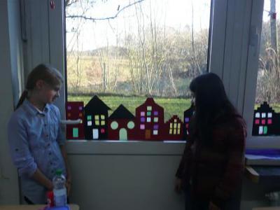 Grundschule Westerhof Adventsbasteln