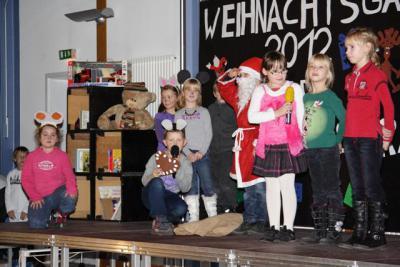 """Fotoalbum Weihnachtsgala an der Grundschule """"Am Stienitzsee"""" 2012"""
