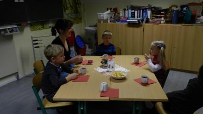 Weihnachtsbasteln Kita.Amt Schenkenländchen Weihnachtsbasteln Mit Den Kita Kindern 2012