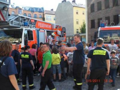 Fotoalbum Besuch Amtsjugendfeuerwehr bei der Berliner Feuerwehr