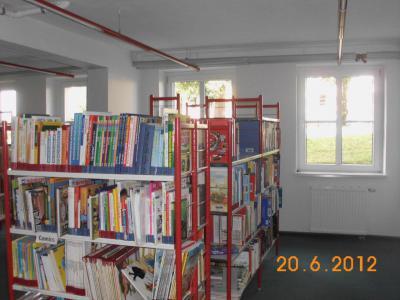 Fotoalbum Renovierung der Bibliothek