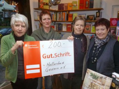 Fotoalbum Spende Gederner Buchladen
