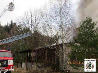 Fotoalbum Oranienburg, Lehnitzschleuse, alte Bäckerei, Feuer Dachstuhl