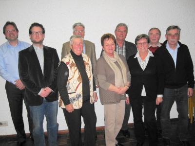 Fotoalbum Jahreshauptversammlung 2013