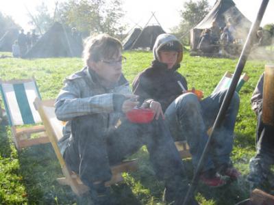 Fotoalbum Die Pfadfinder im Herbstlager Lohmen