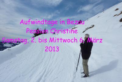 Fotoalbum Kurz-Urlaub in Bezau  02. - 06. März 2013