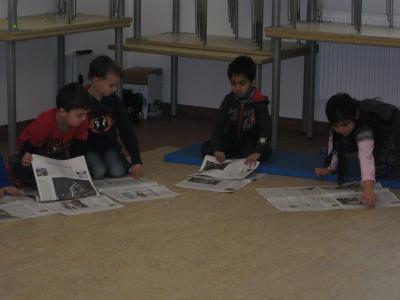 Fotoalbum Zeitung in die KiTa - ZiKiTa