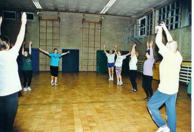 Fotoalbum Fotos von unserer Gymnastik