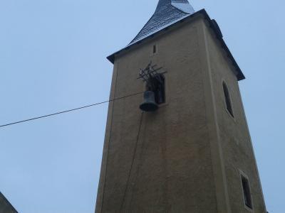 Fotoalbum Kirchenglocke Hackpfüffel auf den Weg zur Restaurierung