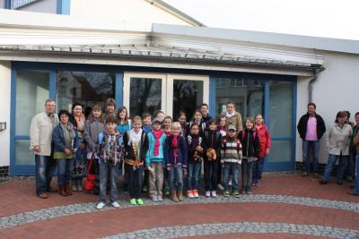 Fotoalbum Schüleraustausch - Fahrt nach Dülmen April 2013