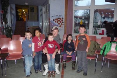 Fotoalbum Weihnachtsprogramm für die Kita-Kinder