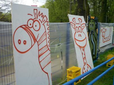 Fotoalbum GSS Graffiti-Projekt April 2013
