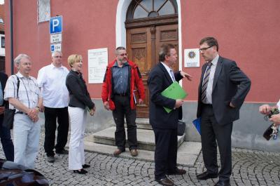 """Fotoalbum Kommunaler Tag mit Landrat und Kreisbeigeordneter im """"Oberen Feldatal"""" am 12.06.2013"""