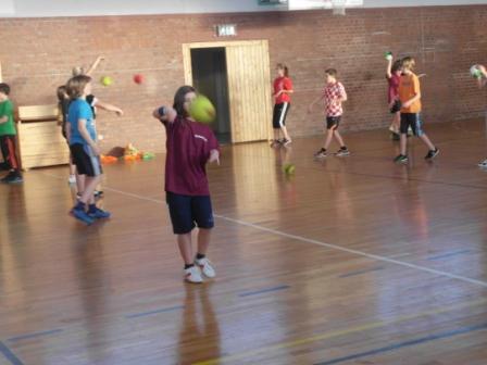 SV Glückauf Bleicherode - Handball-Camp mit Dago Leukefeld