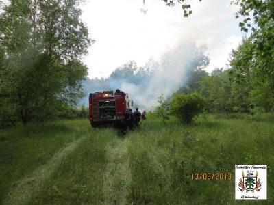 Fotoalbum Flächenbrand nähe B96 Neu