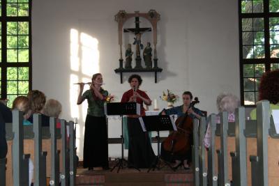 Fotoalbum Sommerliche Serenade mit dem Canella Trio