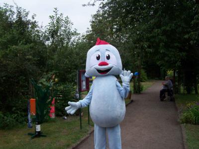 Fotoalbum Kinderfest mit Maskottchentreffen