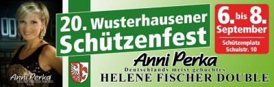 Fotoalbum Werbung zum 20. Schützenfest in Wusterhausen