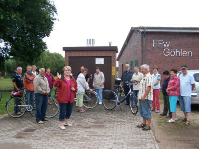 Fotoalbum Fahrradtout mit dem Heimatverein