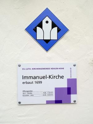 Fotoalbum Signetverleihung Immanuel-Kirche Hehlen