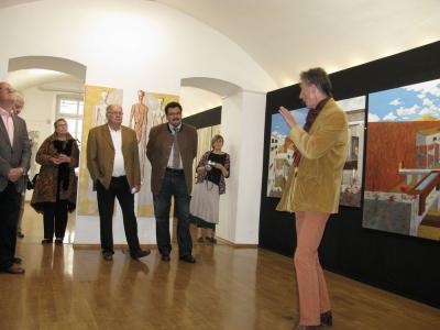 """Fotoalbum Ausstellung """"Visionen - Gegenwart und Zukunft"""" Theo Kemen"""