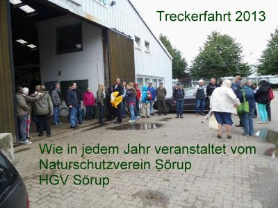 Fotoalbum Treckertour 2013