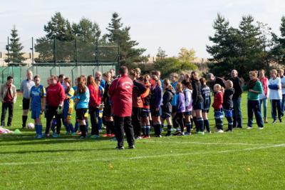 Fotoalbum Tag des Mädchenfussballs am 19.10.2013 beim TSV Barmke