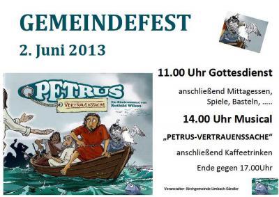 Fotoalbum Gemeindefest 2013