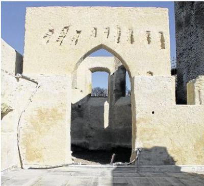 Fotoalbum Restaurierung Burg