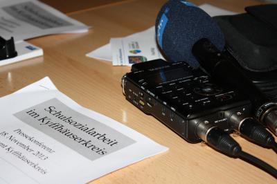 Fotoalbum Pressekonferenz zur Schulsozialarbeit im Kyffhäuserkreis