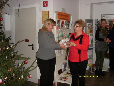 Fotoalbum Glückwünsche zur Wiederwahl der Amtsdirektorin Dr. Grit Brinkmann