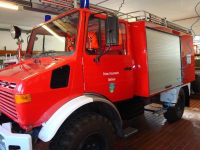 Fotoalbum Verkauf von zwei Feuerwehrfahrzeugen