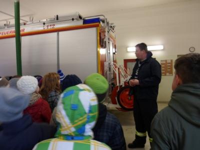 Fotoalbum Besuch bei der Feuerwehr Oderberg