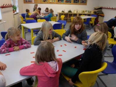 Fotoalbum Lernen in Partnerklassen