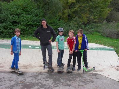Fotoalbum Skater Einsteigerworkshop