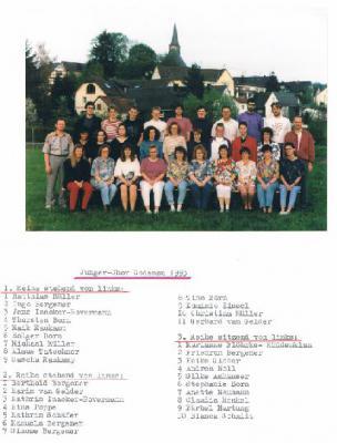 Fotoalbum Junger Chor Dodenau