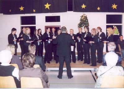Fotoalbum Junger Chor Weihnachtskonzert